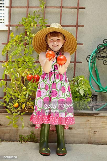 summer kids - plant de tomate photos et images de collection