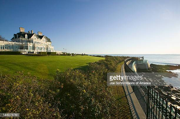 Summer mansion on the Cliff Walk Cliffside Mansions of Newport Rhode Island