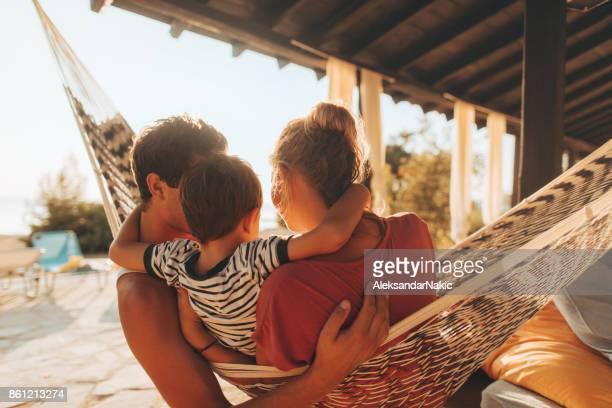 Moments de l'été avec ma famille