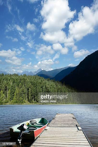 XXXL de Verão do Lago de Montanha