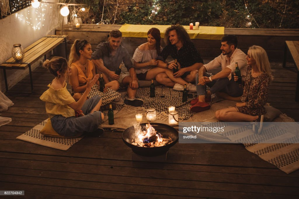 Summer nights : Stock Photo