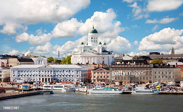 summer of helsinki, finland. - helsinki stock pictures, royalty-free photos & images