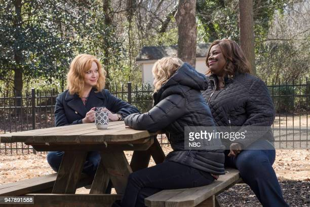 GIRLS 'Summer Of The Shark' Episode 109 Pictured Christina Hendricks as Beth Boland Mae Whitman as Annie Marks Retta as Ruby Hill