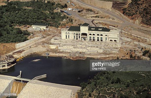 Summer palace of Saddam Hussein in Iraq on May 02 1991