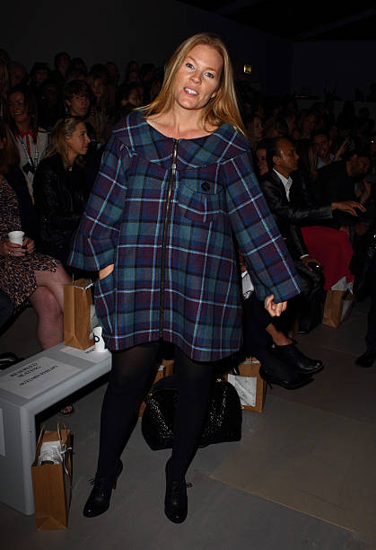 9c6e4c16537d Summer Phillips on the front row at the Paul Costelloe show at London  Fashion Week Spring