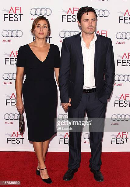 Summer Phoenix and Casey Affleck attend the AFI FEST 2013 Presented By Audi 'Out Of The Furnace' Premiere held at TCL Chinese Theatre on November 9...