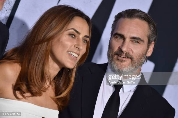 Summer Phoenix and Joaquin Phoenix attend the Premiere of Warner Bros Pictures Joker on September 28 2019 in Hollywood California