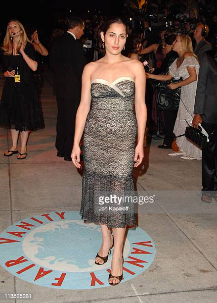 Summer Phoenix during 2006 Vanity Fair Oscar Party at Morton's in West Hollywood California United States