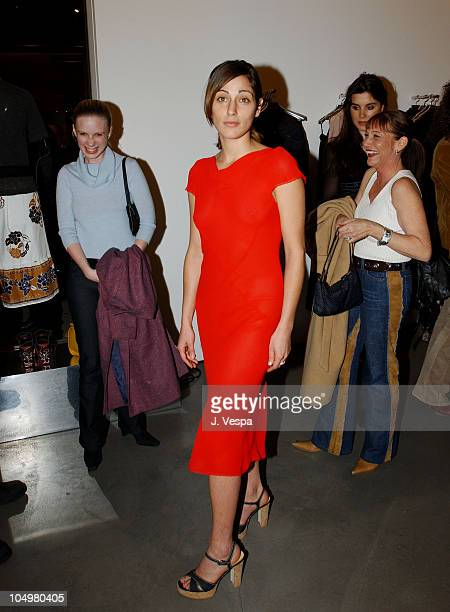 Summer Phoenix during Miu Miu Party at Miu Miu Store in Los Angeles California United States