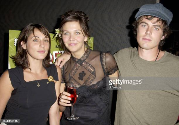 Summer Phoenix Maggie Gyllenhaal and Casey Affleck