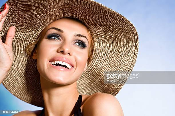 summer portrait - hot female models stock pictures, royalty-free photos & images