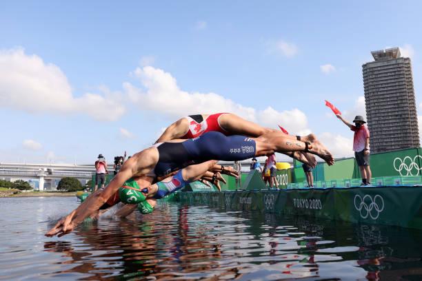 JPN: Triathlon - Olympics: Day 8