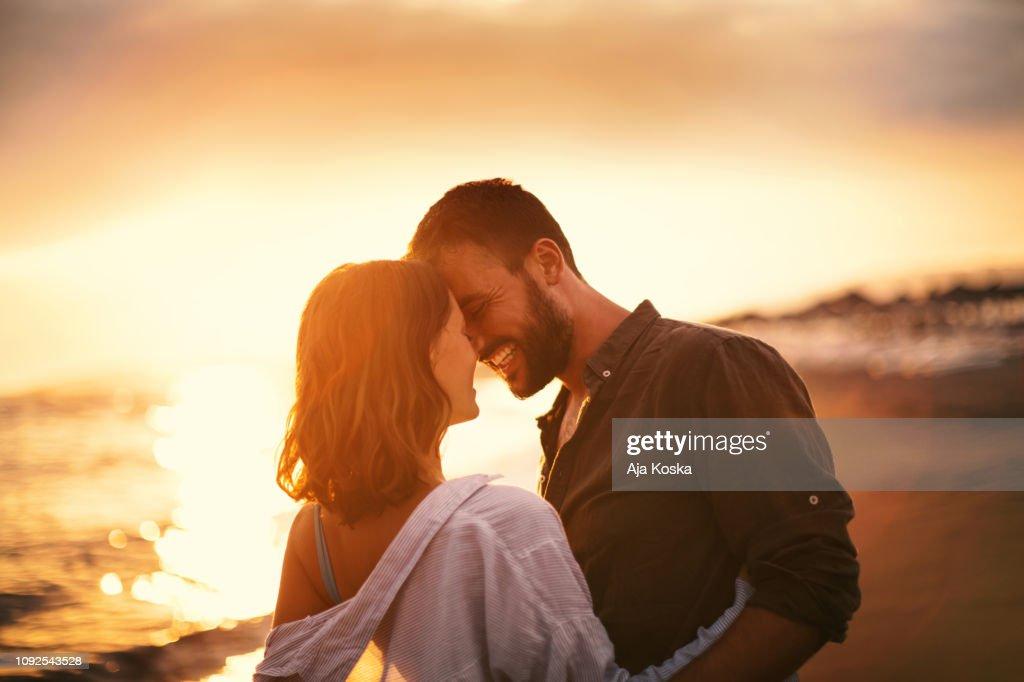 Summer romance. : Stock Photo