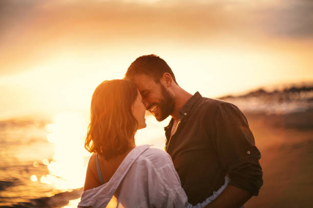summer romance. - couples romance stock pictures, royalty-free photos & images