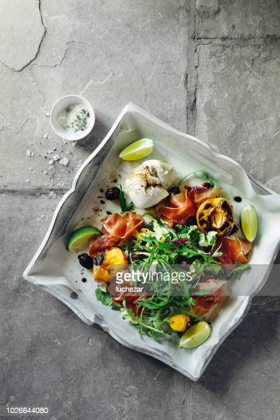 summer salad - green salad stock pictures, royalty-free photos & images