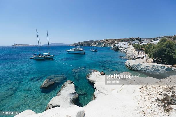 Summer sea landscape in Greece