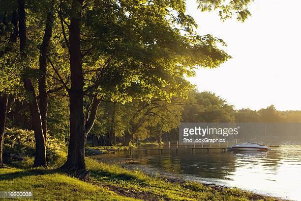 Un été serein le Chautauqua Lac