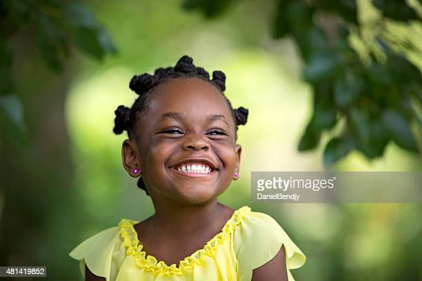 summer smile - black girls stock photos and pictures