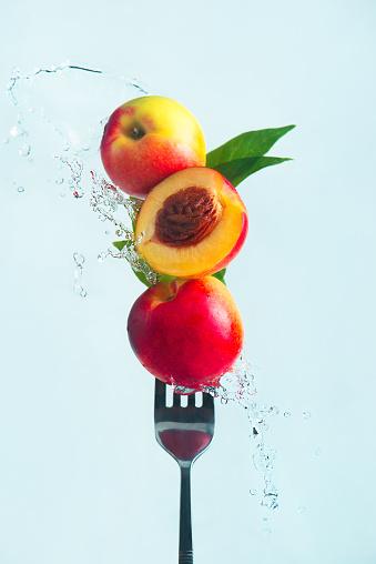 Summer snacks (Nectarine) - gettyimageskorea