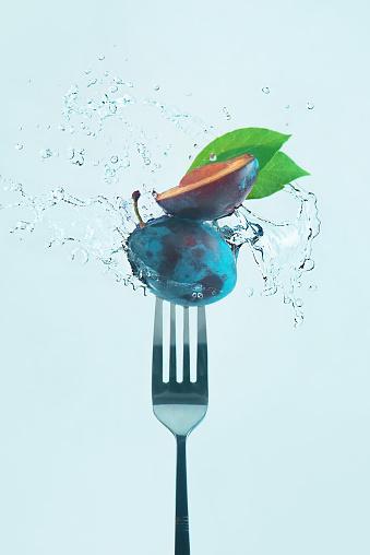 Summer snacks (Plum) - gettyimageskorea
