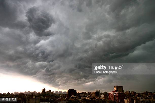 Summer Storm on the Roofs of Harlem