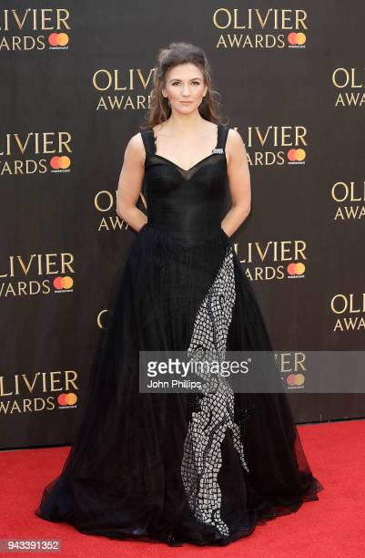 Summer Strallen attends The Olivier Awards with Mastercard at Royal Albert Hall on April 8 2018 in London England