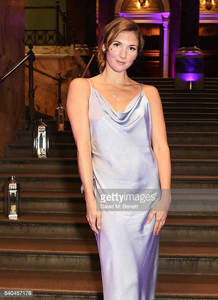 Summer Strallen attends the press night after party for Disney's 'Aladdin' at The The National Gallery on June 15 2016 in London England