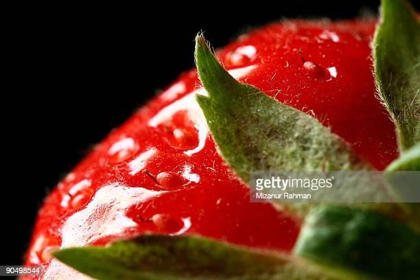 summer strawberry - mizanur rahman stock pictures, royalty-free photos & images