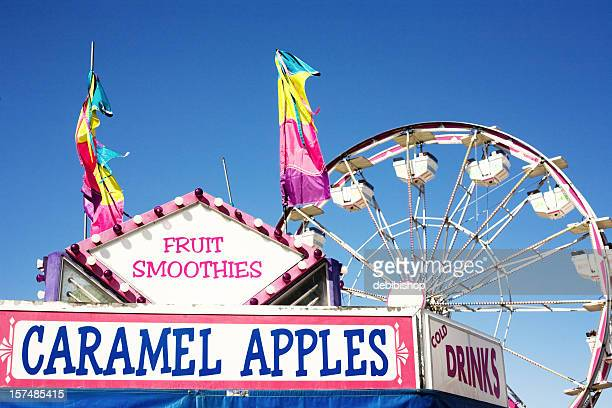 summer treats at the carnival - agricultural fair stock pictures, royalty-free photos & images