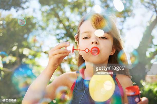 Vacaciones de verano burbujas