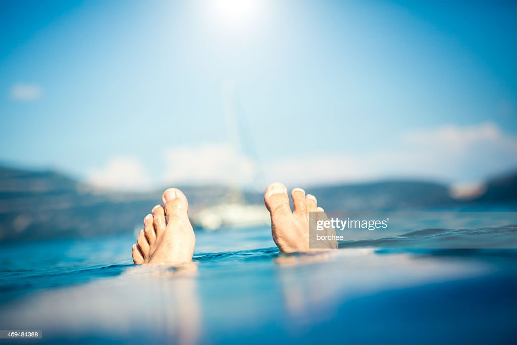 Summer Vacations On The Sea : Stock Photo