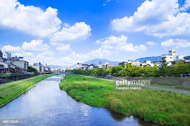 Summer view of Kamo River