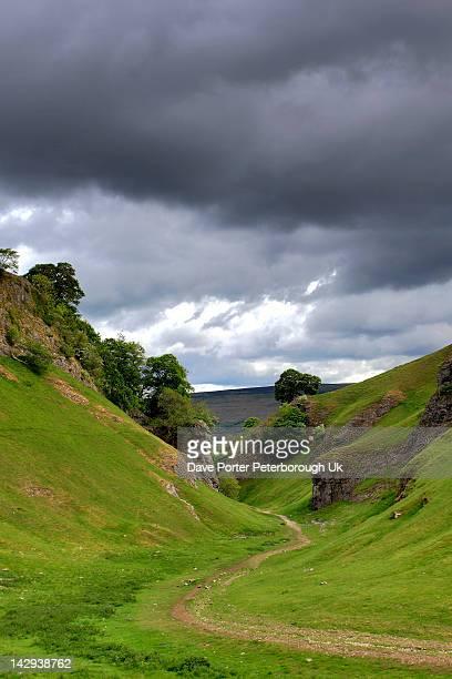 summer view through hope valley - hope imagens e fotografias de stock