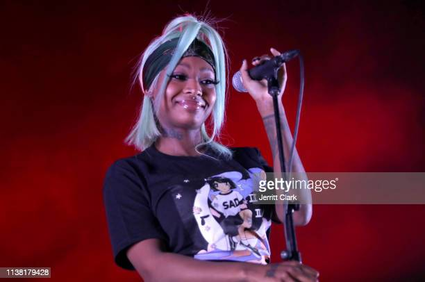 Summer Walker performs at The Fonda Theatre on March 24 2019 in Los Angeles California