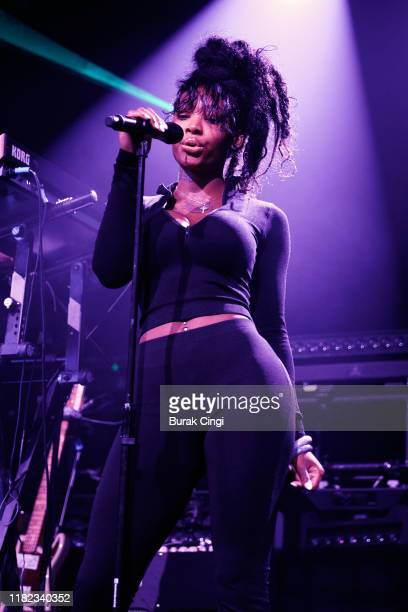 Summer Walker performs on stage at Electric Brixton on October 20 2019 in London England