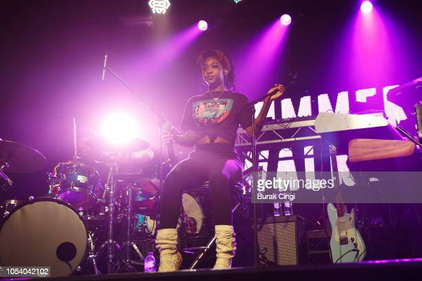 Summer Walker performs on stage at Heaven on October 26 2018 in London England