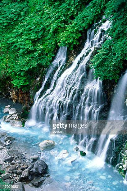 Summer Waterfalls in Hokkaido,Japan