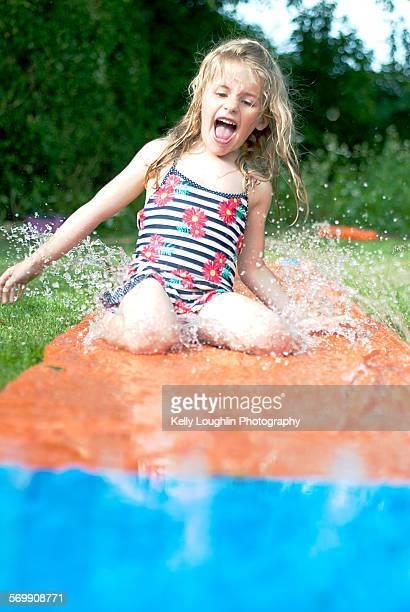 Summer waterslide