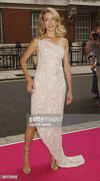 Summer Watson arrives at the In The Pink charity party in aid of Breast Cancer Haven at Cadogan Hall on June 20 2005 in London England
