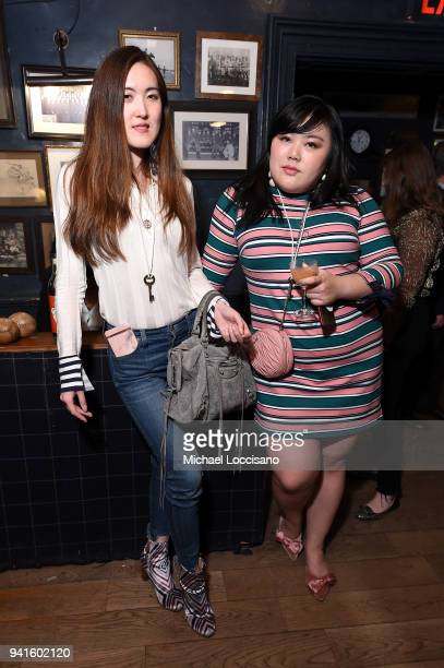 Summer YL and Scarlett Hao attend an immersive theatrical experience 'Amparo' presented by HAVANA CLUB Rum on April 3 2018 in New York City