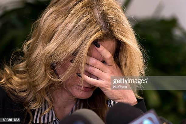 Summer Zervos a former contestant on the TV show The Apprentice who previously accused Donald Trump of sexual misconduct during a press conference in...