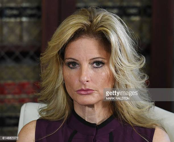 Summer Zervos who was a contestant on the TV show The Apprentice speaks about allegations of sexual misconduct against Republican presidential...