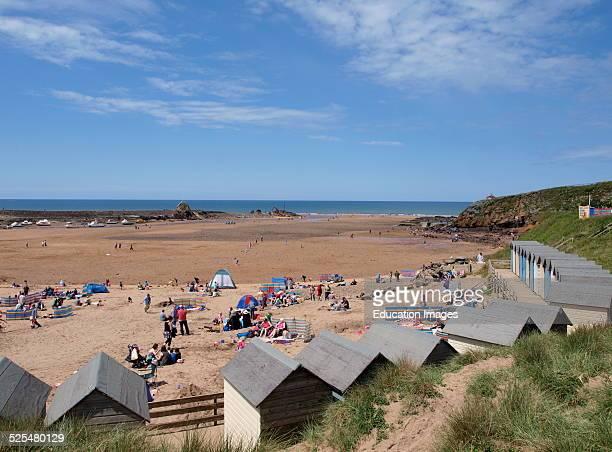 Summerleaze Beach Bude Cornwall UK