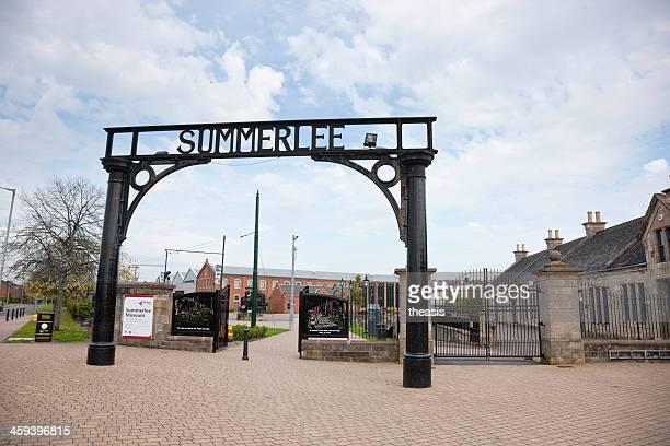 summerlee museum, à glasgow - theasis photos et images de collection