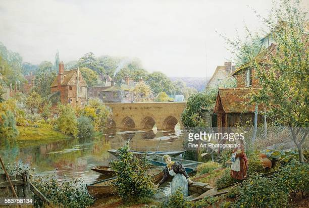 A Summer's Day Abingdon Oxfordshire England by Charles Gregory