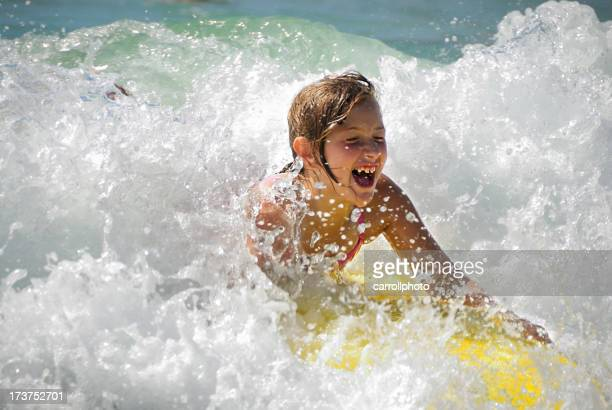 Summertime - Catching a Wave at the Beach