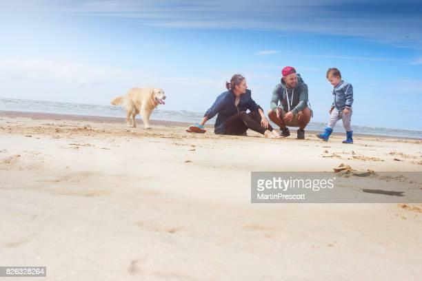 Summertime family fun at the beach