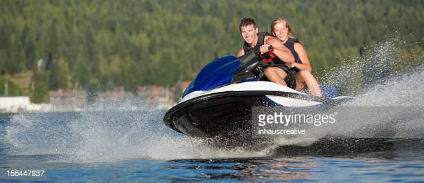 Summertime Fun Jet Skiing