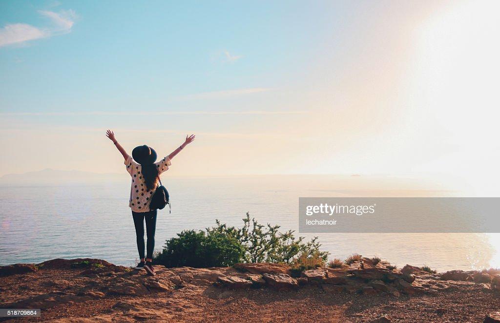 Summertime happiness : Stock Photo