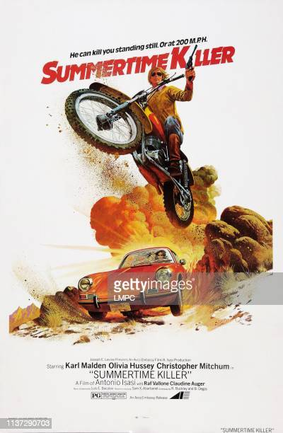 Summertime Killer, poster, , US poster art, Christopher Mitchum, 1972.